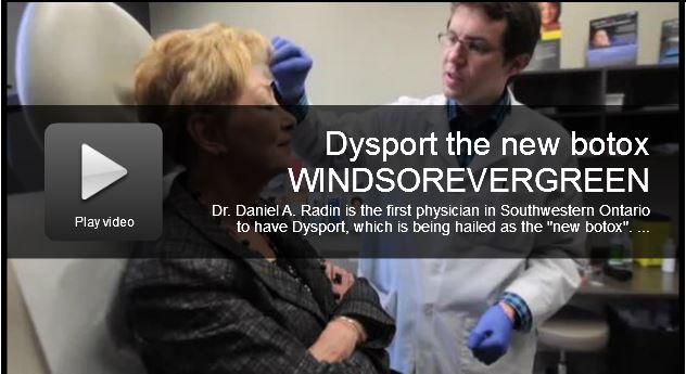 dr radin explaining dysport